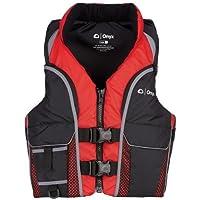 オニキス選択ライフジャケット、XL、レッド