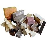 木工クラフト向け ミニ銘木端材福箱