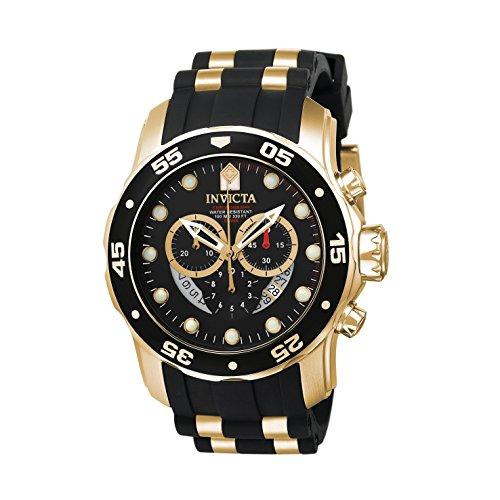 [インビクタ] Invicta 腕時計 Pro Diver Collection プロダイバー コレクション スイス製クォーツ 6981 メンズ [高級セーム革セット]【並行輸入品】