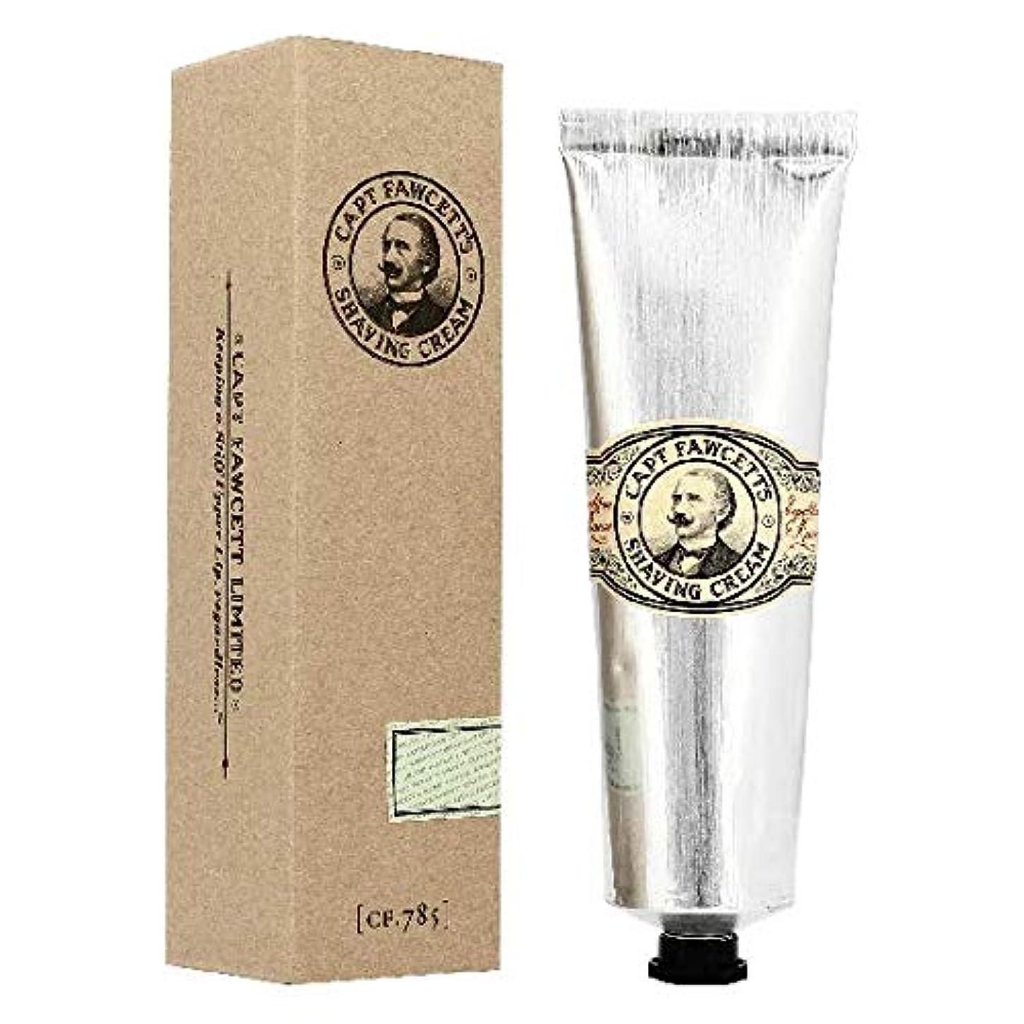 罰混乱ハンバーガーキャプテンフォーセット シェービングクリーム150ml[海外直送品]Captain Fawcett's Shaving Cream 150ml [並行輸入品]