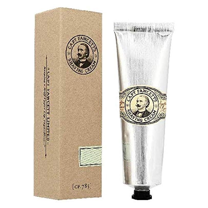 アルコール鉄道駅自慢キャプテンフォーセット シェービングクリーム150ml[海外直送品]Captain Fawcett's Shaving Cream 150ml [並行輸入品]