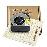 新しいノートパソコンCPU冷却ファンEathtek for Dell Latitude e4300シリーズ、と互換性パーツ# cn-0wm5980wm598dc280004wfl dfs400805l10t f7K9-cw