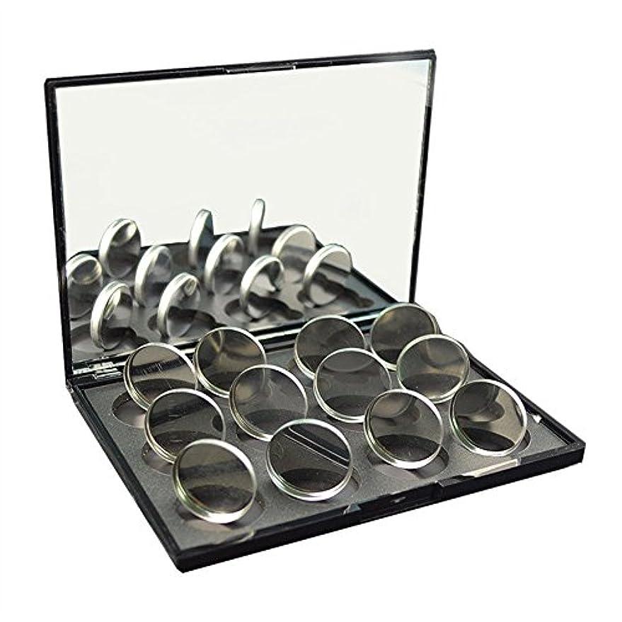 状況捧げるインスタント磁石に敏感な粉のアイシャドウ26mmのための100pcs空の円形の錫鍋