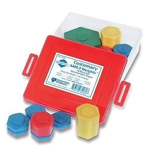 [ラーニング リソース]Learning Resources Customary SAFET Weight Set 32060 [並行輸入品]