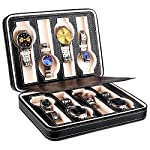 【さらに65%OFF!】Amzdeal 腕時計収納ケース 8本用