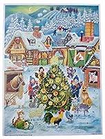 Richard Sellmer ubia Company クリスマスファームアドベントカレンダー (約10.5 x 14インチ)