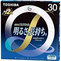 TOSHIBA メロウZロングライフ 環形蛍光ランプ 30W形 クリアデイライト昼光色 FCL30EDC/28LL