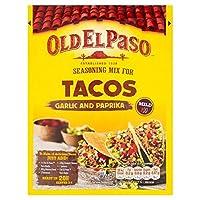 Old El Paso Taco Seasoning Garlic & Paprika 35g - (Old El Paso) タコスの調味料ガーリック&パプリカ35グラム [並行輸入品]