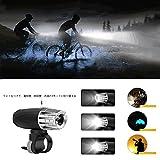 自転車用ライト 自転車前照灯 LED 120度回転可能 USB充電式 高輝度 3モード