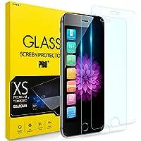 【2枚セット】 iPhone 8 ガラスフィルムiPhone 7強化ガラスiPhone 6液晶保護フィル iPhone 6Sフィル【日本製素材旭硝子製】 業界最高硬度9H/高透過率/3D Touch対応/自動吸着/指紋防止/気泡ゼロ/高透過率 アイフォン7プラス ガラスフィルム アイフォン8プラス 強化ガラス ー 4.7インチ対応