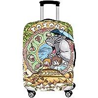 Fishtravel スーツケース カバー 伸縮 保護 洗える おしゃれ 高品質 旅行 海外 夏 キャリーバッグ カバー キズから保護 便利 ジッパー S M L XLサイズ