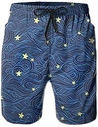 流れ星 メンズ サーフパンツ 水陸両用 水着 海パン ビーチパンツ 短パン ショーツ ショートパンツ 大きいサイズ ハワイ風 アロハ 大人気 おしゃれ 通気 速乾