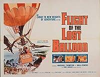 キャンバスに映画ポスタージクレープリント - 映画ポスター複製壁の装飾(失われた気球3の飛行) #XFB