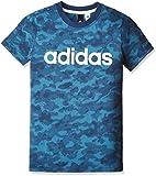 (アディダス)adidas トレーニングウェア ESS リニアロゴ Tシャツ MLB22 [ボーイズ] MLB22 BK3470 コアブルー S17/ミステリーブルー S17 J140