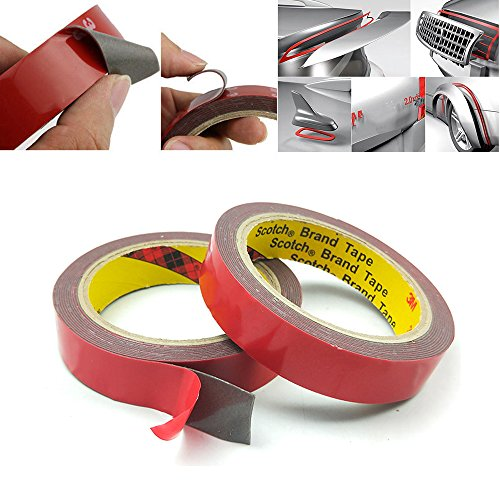 (2本セット)超強力両面テープ 粘着用テープ DIY接着用品...