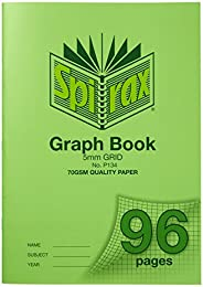 Spirax P134 Grid Book A4 5Mm 96Pg