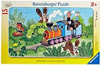 Ravensburger Mole As Trainconductor Jigsaw Puzzle (15 Piece) [並行輸入品]