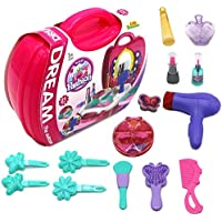 [リトルトレジャー]Little Treasures Dream Beauty Pretend Play Set makeup set & Hair Styling Set All in 1 for kids 3+ [並行輸入品]