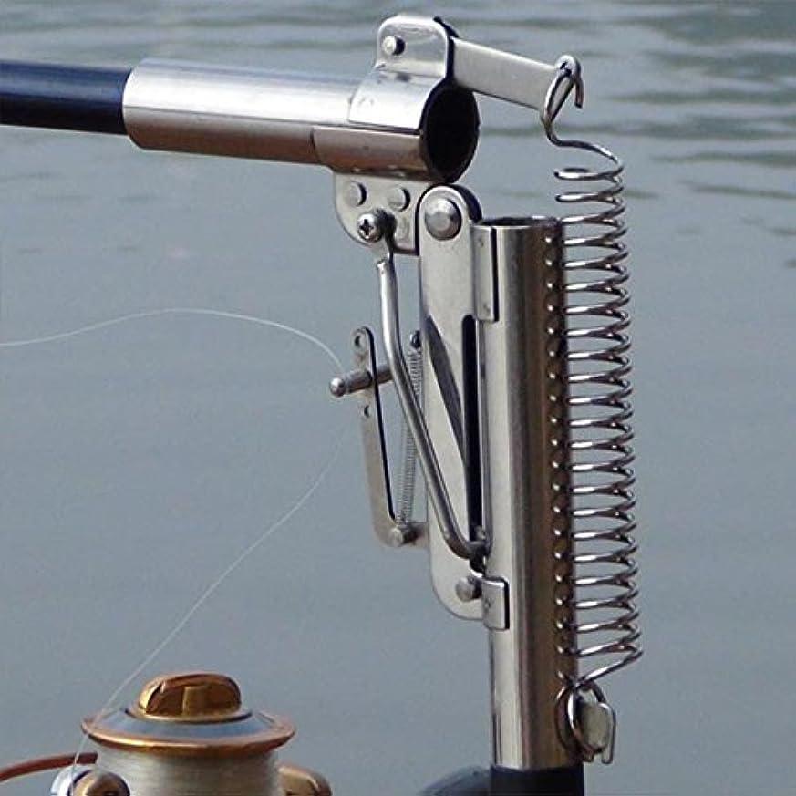 コミットメントぞっとするようなミリメートル3.0 Mステンレススチール自動伸縮海釣りロッド釣りロッドリールなし