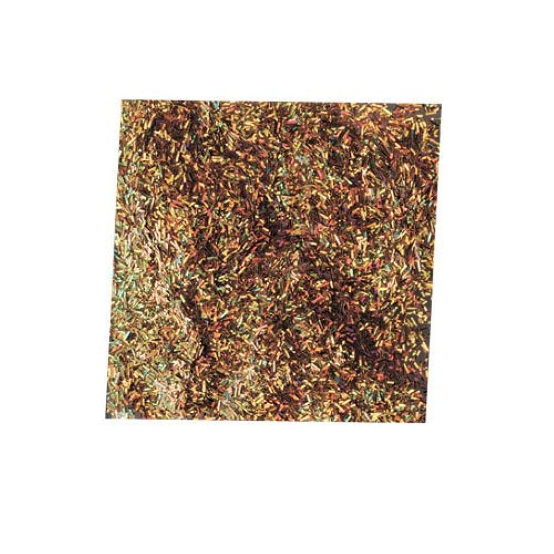 日食セマフォ委任ピカエース ネイル用パウダー チャンキーホロ #882 ゴールド 0.5g