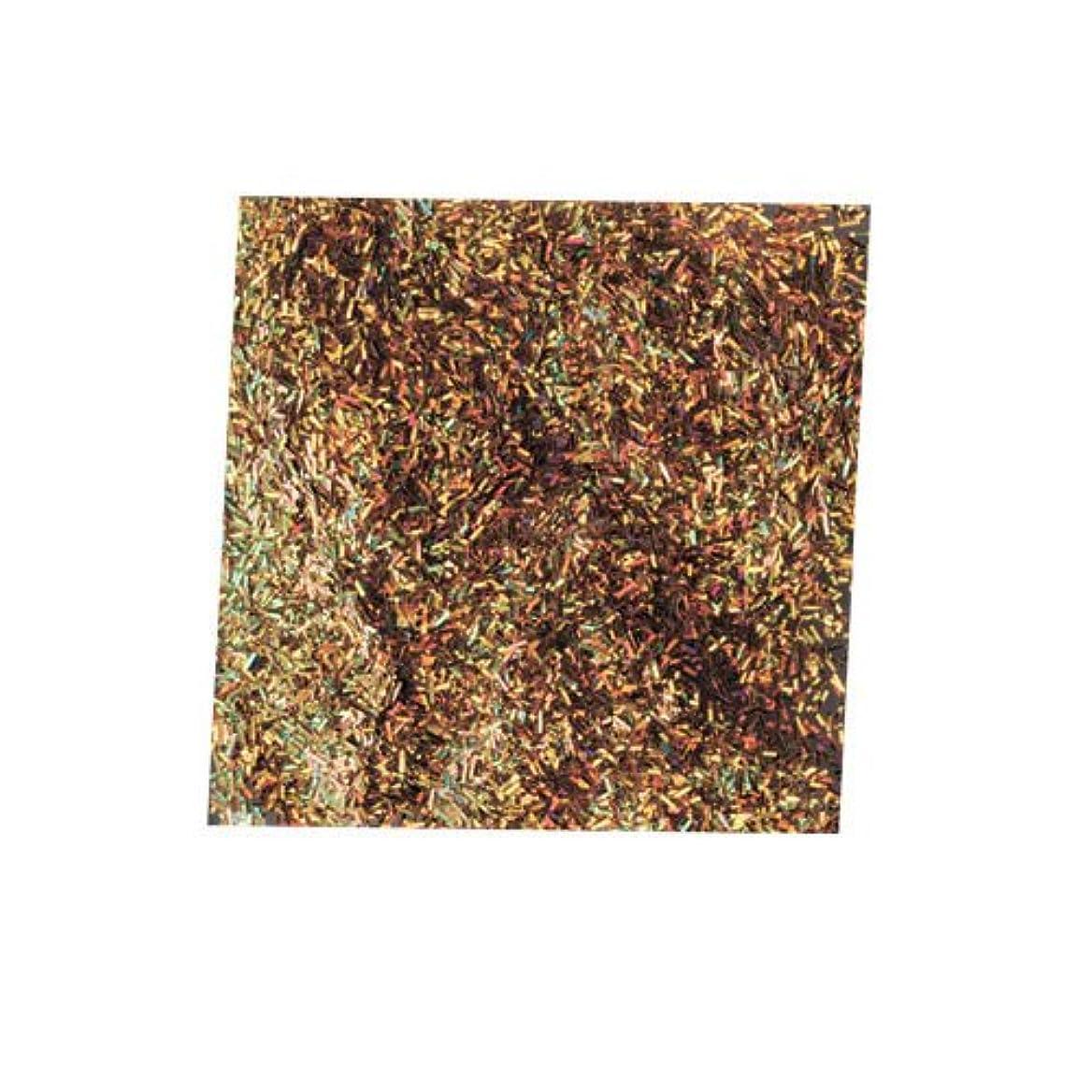 オーロック地図キャプチャーピカエース ネイル用パウダー チャンキーホロ #882 ゴールド 0.5g