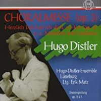 Chorwerke by HUGO DISTLER (2008-06-03)
