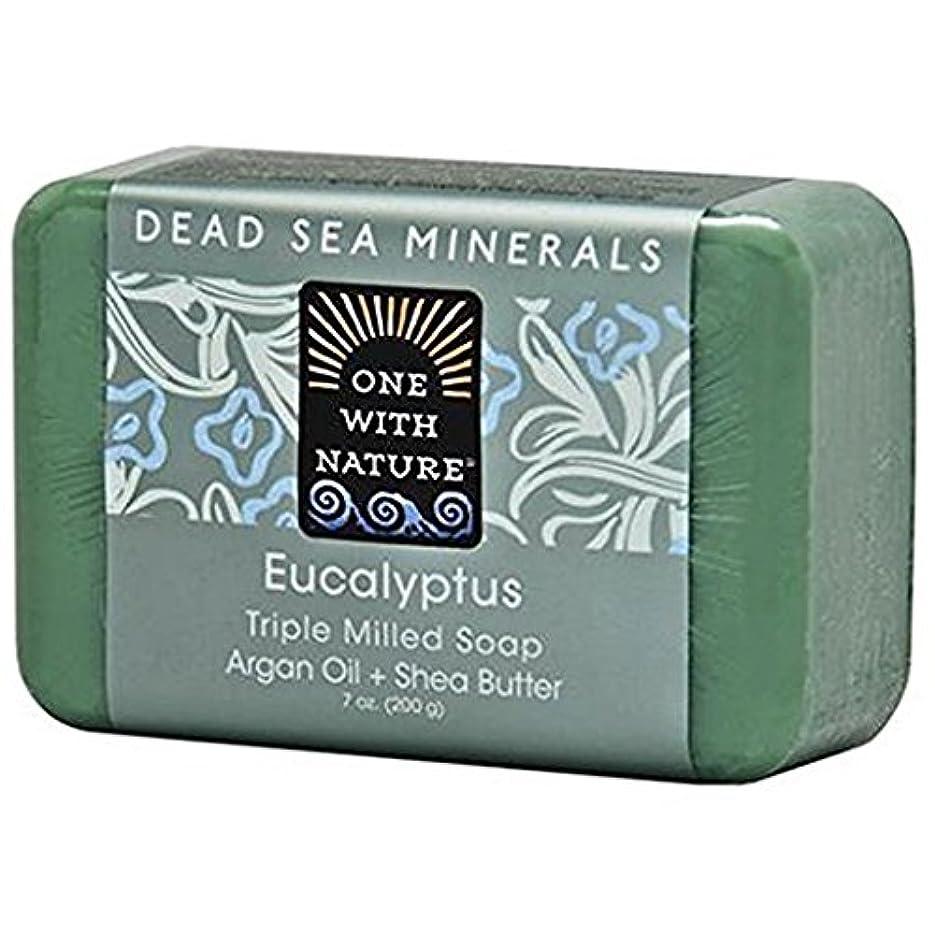 熟考する彼女甘くするOne With Nature - 死んだSea Mineralsは製粉された棒石鹸のユーカリを三倍にする - 7ポンド [並行輸入品]