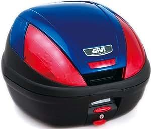 GIVI(ジビ) モノロックケース(トップケース) ブルー 39L E370B529D 68046