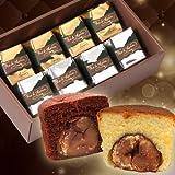 大粒栗のマロンケーキ ロアドマロン 8個入 プレーン&ショコラ 詰め合わせ ギフト 誕生日