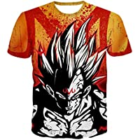 JANDZ Dragon Ball T-Shirts: Black (EU (2XL)→ Asian (4XL), Design- 29)