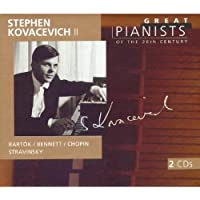 Stephen Kovacevich II: Great Pianists of the Twentieth Century, Vol. 61 (1999-05-11)