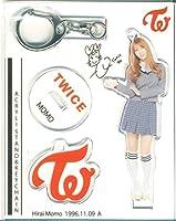 韓国 TWICE MOMO モモ アクリルスタンドキーホルダー