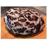 アニマル柄 ベレー帽 豹柄バスク ハット leopard parttern Beret 2 ベレー帽 レディース