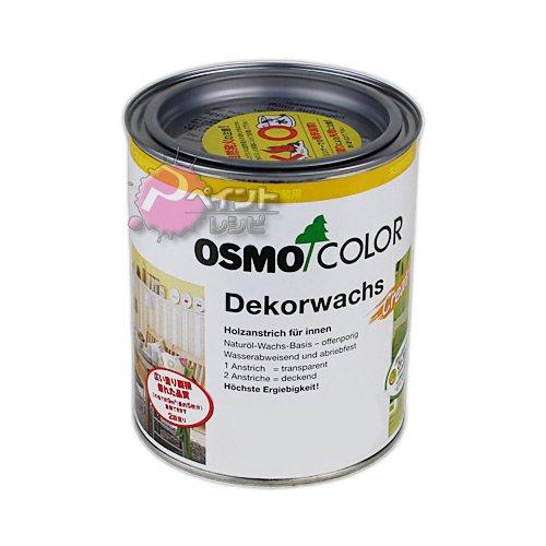 オスモ オスモカラー ウッドワックスオパーク「日本の色」 #3188白色 750ml