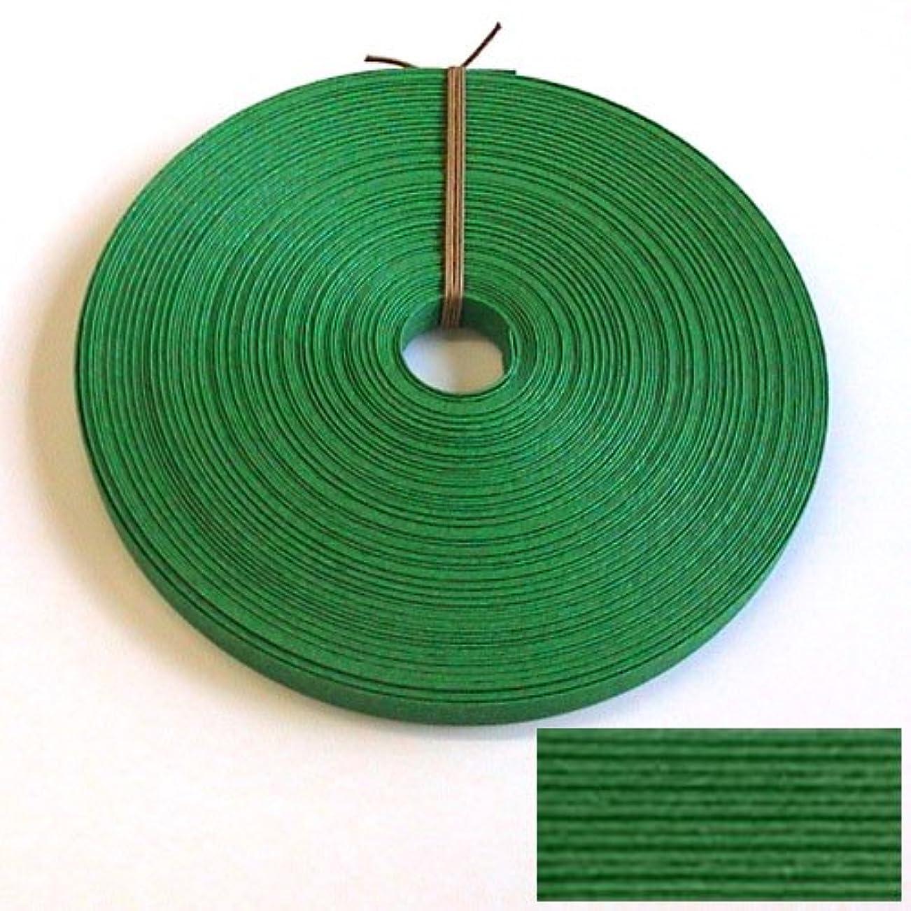 あなたが良くなりますチューブ鉄道駅紙バンド手芸用ホビーテープ 30m巻 グリーン