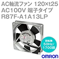 オムロン(OMRON) R87F-A1A13LP AC軸流ファン 100V (120×t25 端子タイプ) (回転数 50Hz 1700回) NN