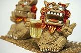 オリオンビール ジョッキで乾杯 シーサー(小) 赤