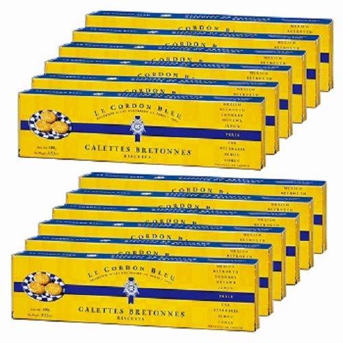 ル・コルドン・ブルー (Le Cordon Bleu) ガレット プレーン 12箱セット【フランス 海外土産 輸入食品 子 スイーツ】