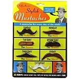 [アーチーマクフィー]Archie McPhee - Accoutrements Archie McPhee Stylish Mustaches, 7 Pack 10484-Mustaches [並行輸入品]
