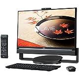 NEC デスクトップパソコン LAVIE Desk All-in-one DA770/CABJ PC-DA770CAB-J[ファインブラック] [画面サイズ:23.8インチ CPU種類:Core i7 5500U(Broadwell) メモリ容量:8GB HDD容量:3TB OS:Windows 10 Home 64bit]