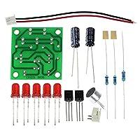 電子面白いキット音声制御LEDメロディライトDIYキットプロダクションスイート小型電子学習電子キット