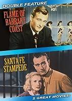 Flame of Barbary Coast & Santa Fe Stampede [DVD] [Import]