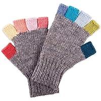 ドイツ発(MOSHIKI BRAND):レディース フィンガーレスニット手袋:KANKAI PAIR