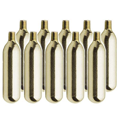 CO2 16g ボンベ ネジ有 [ 各社 パンク修理用 CO2 インフレーター対応 ] (10本セット)