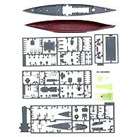Baosity アンアセンブリ 1:700 DIY ビルディング モデルキット 戦艦モデル 全4選択 - #4