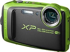FUJIFILM デジタルカメラ XP120 ライム 防水 FX-XP120LM