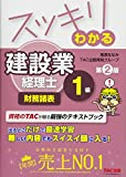 スッキリわかる 建設業経理士1級 財務諸表 第2版 (スッキリわかるシリーズ)