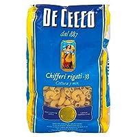 De Cecco Pasta Chifferi Rigati (500g) ディ?チェコパスタchifferiストライプ( 500グラム)