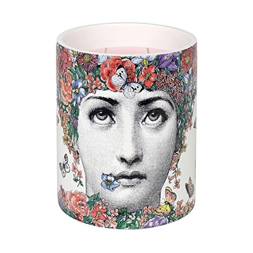 チョーク文献乳白色Fornasetti Scented Candle Fior Di Lina 900 g