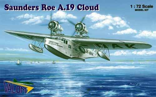 ヴァロム 72061 1/72 サンダース ロー A.19 クラウド 飛行艇